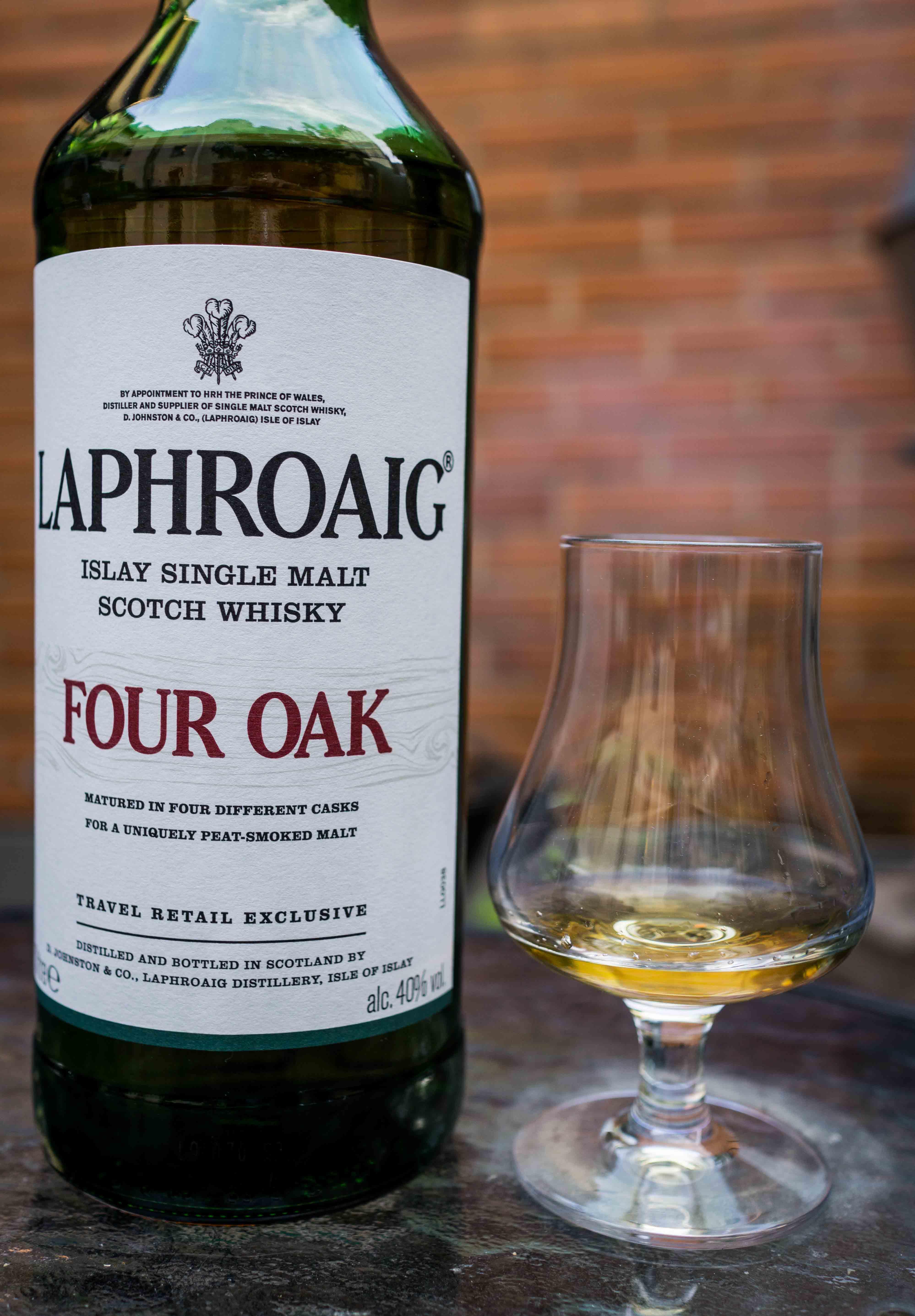 Laphroaig four oak