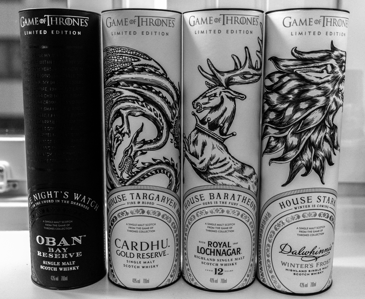 Game of thrones whisky, some of them…