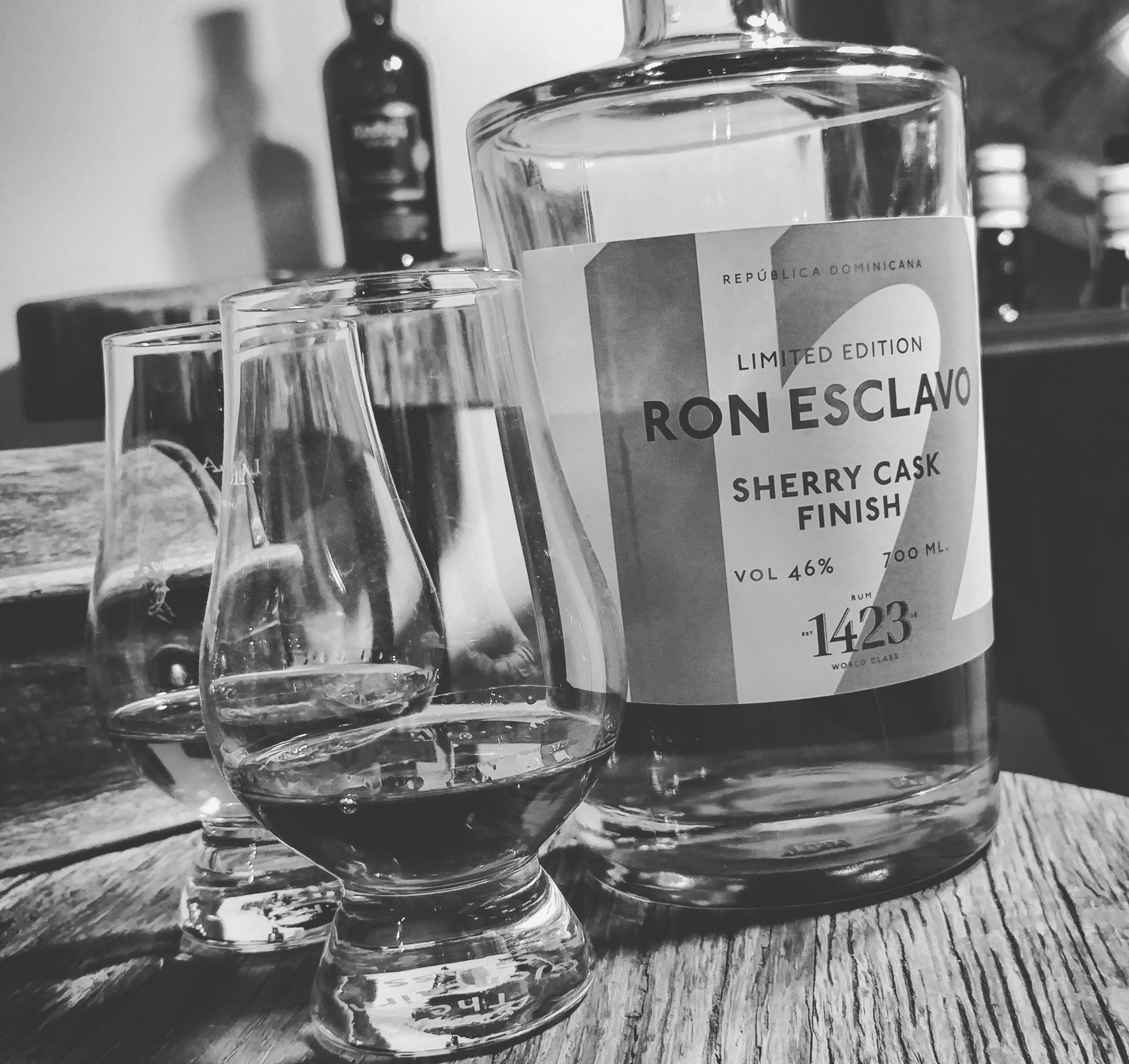 The Ron esclavo 12 sherry cask finish