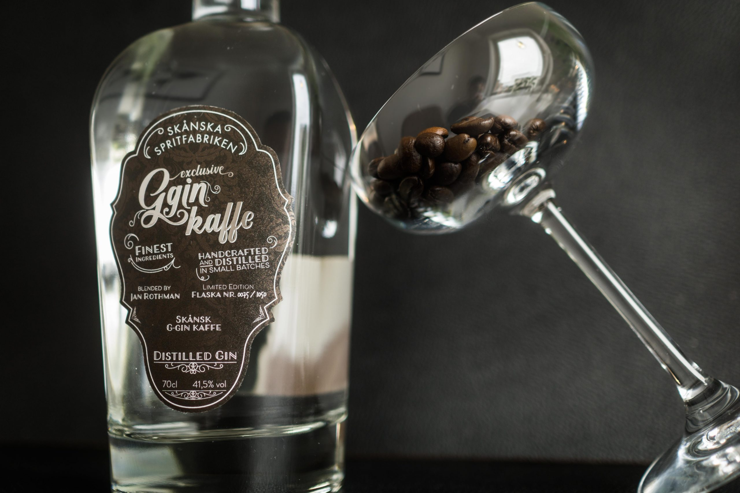 The g-Gin Kaffe from Skånska spritfabriken