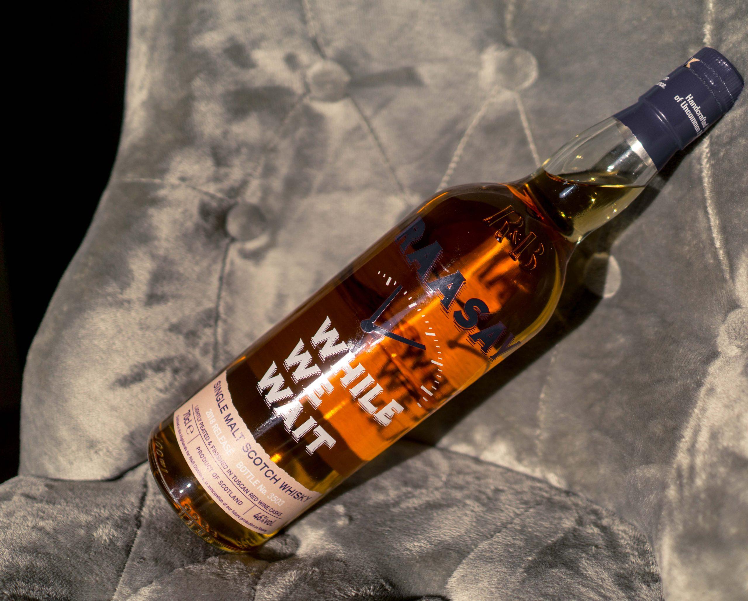 Raasay While We Wait single malt Scotch whisky