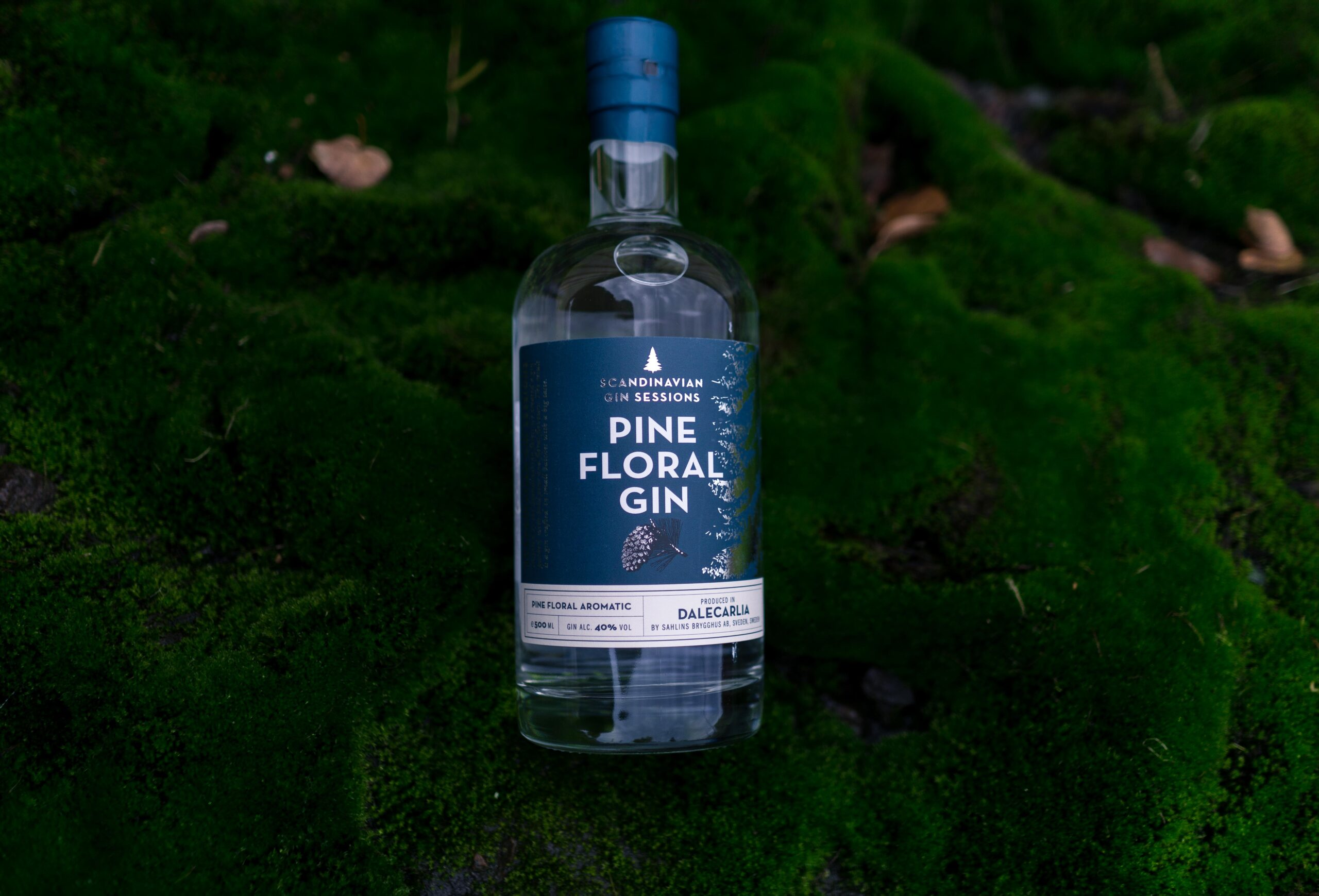 Scandinavian Gin sessions Pine floral gin