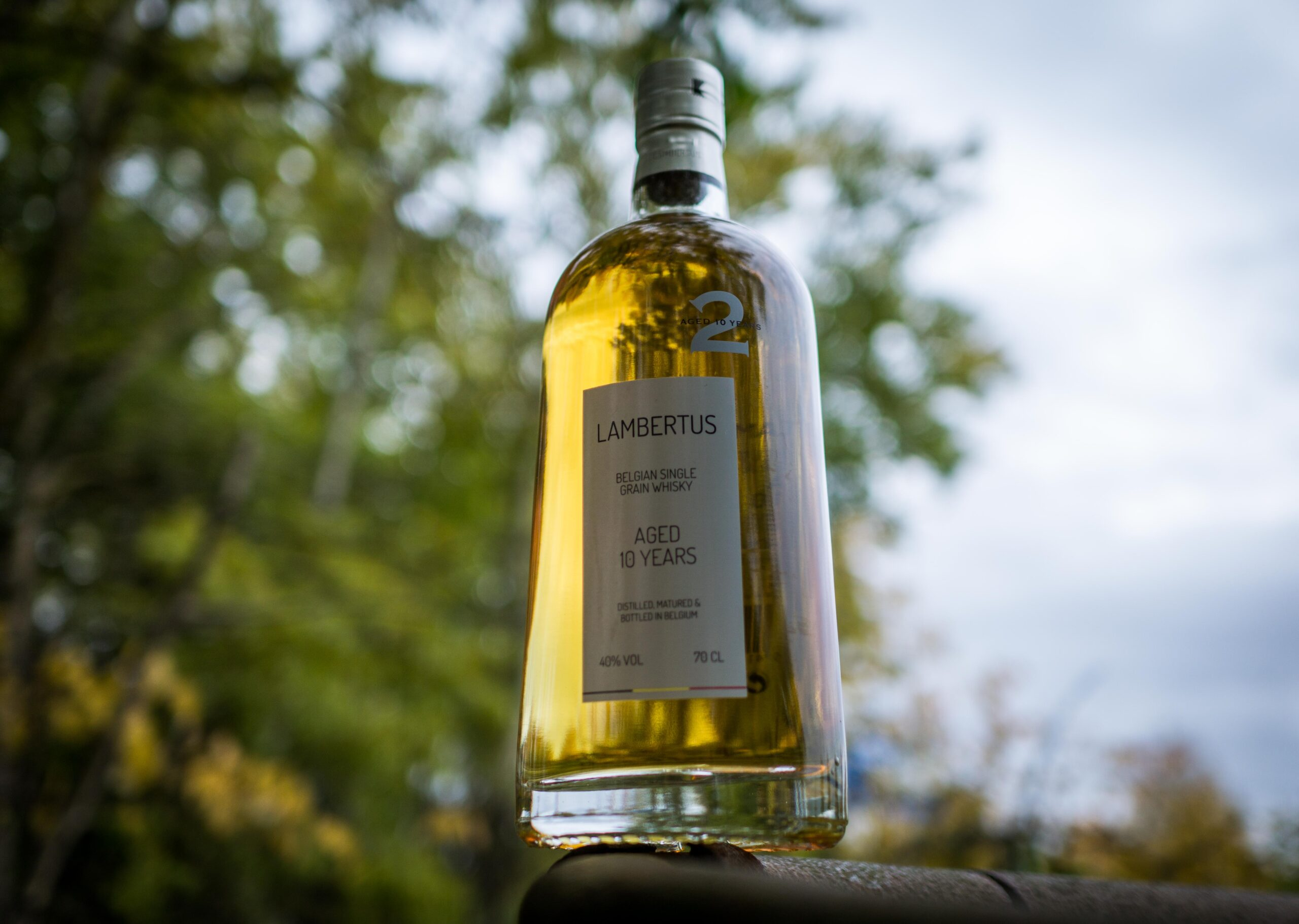 Lambertus Belgian single grain whisky 10yo