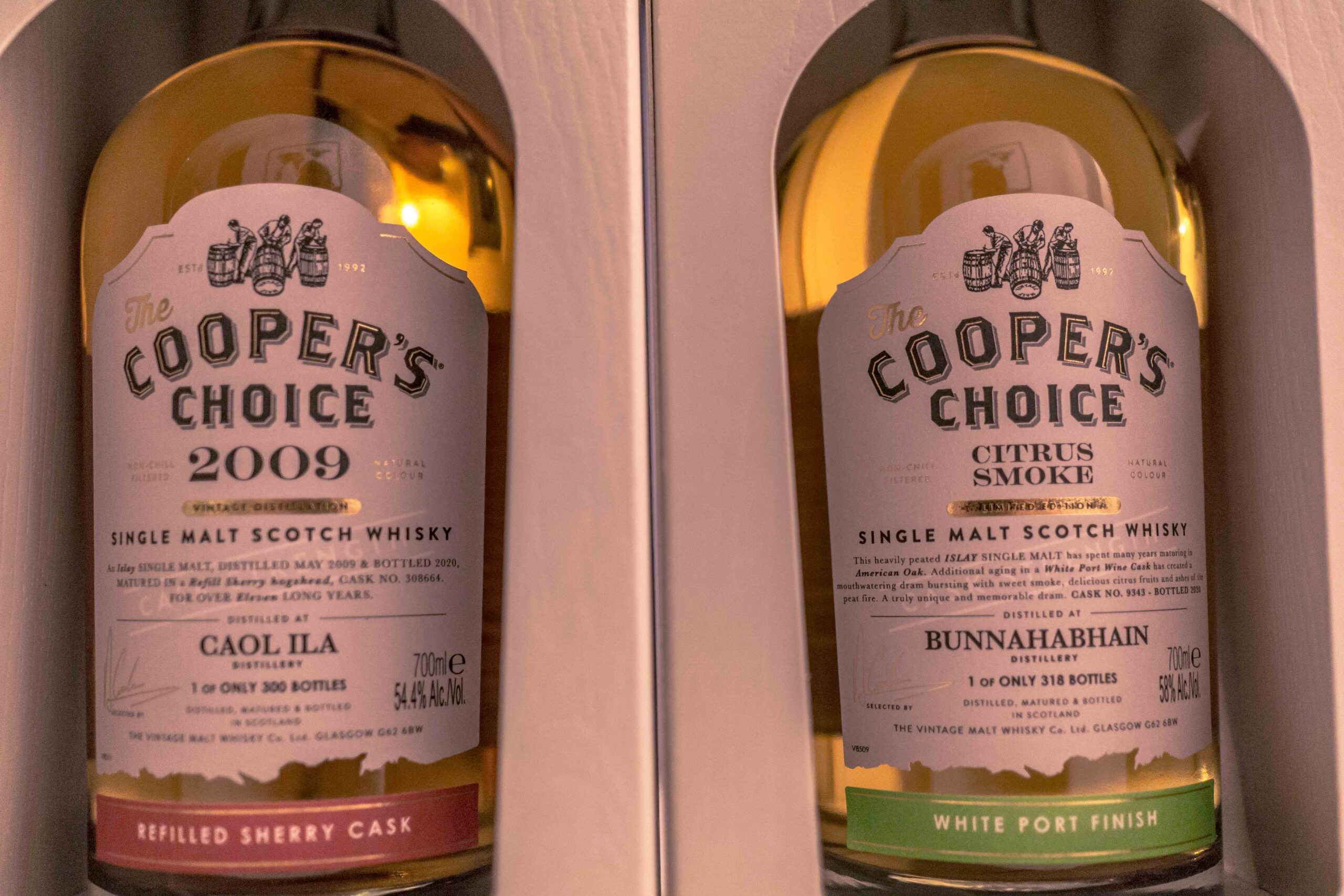 Two new expressions from Cooper's choice