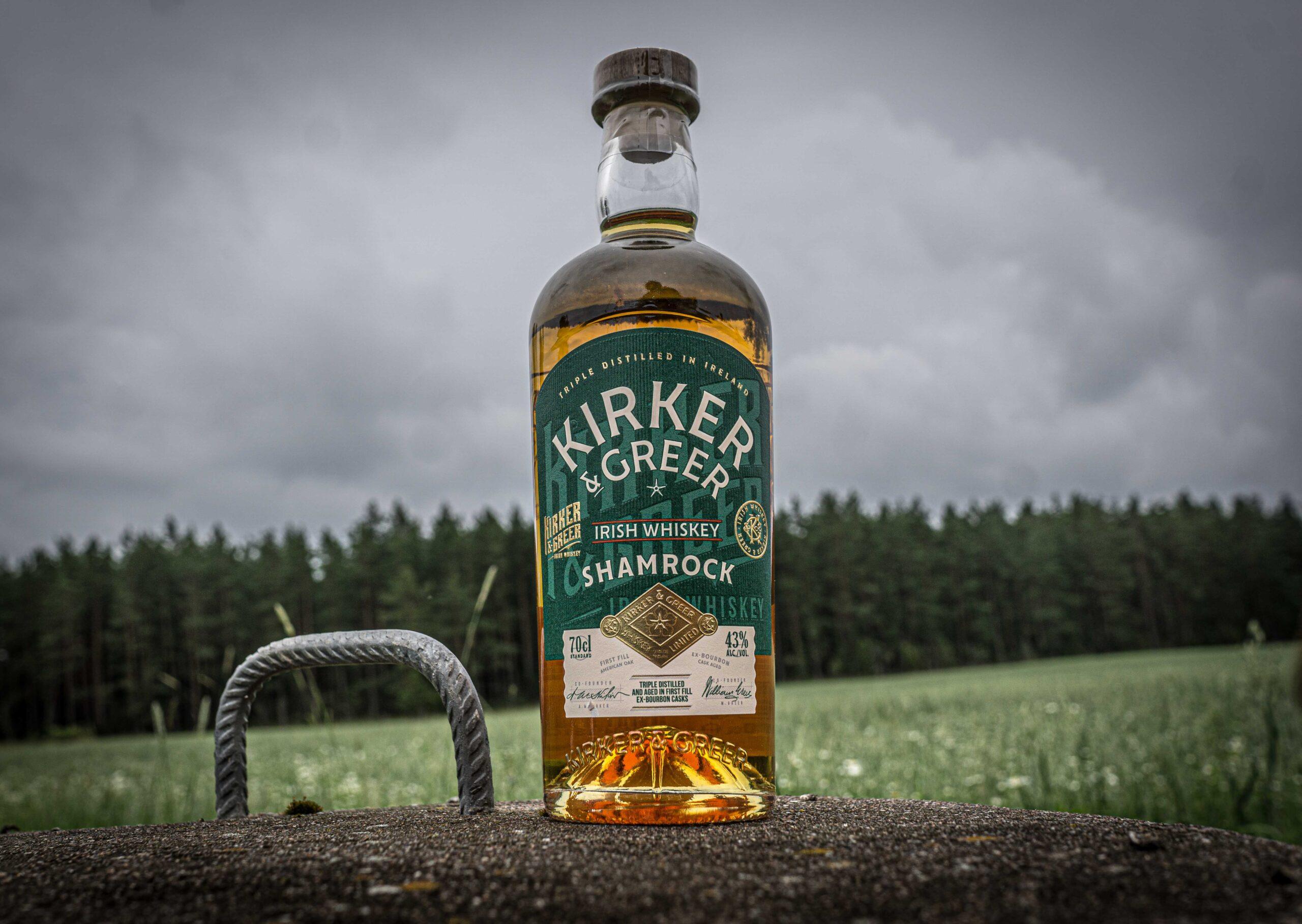 Kirker & Gerer Shamrock Irish Whiskey