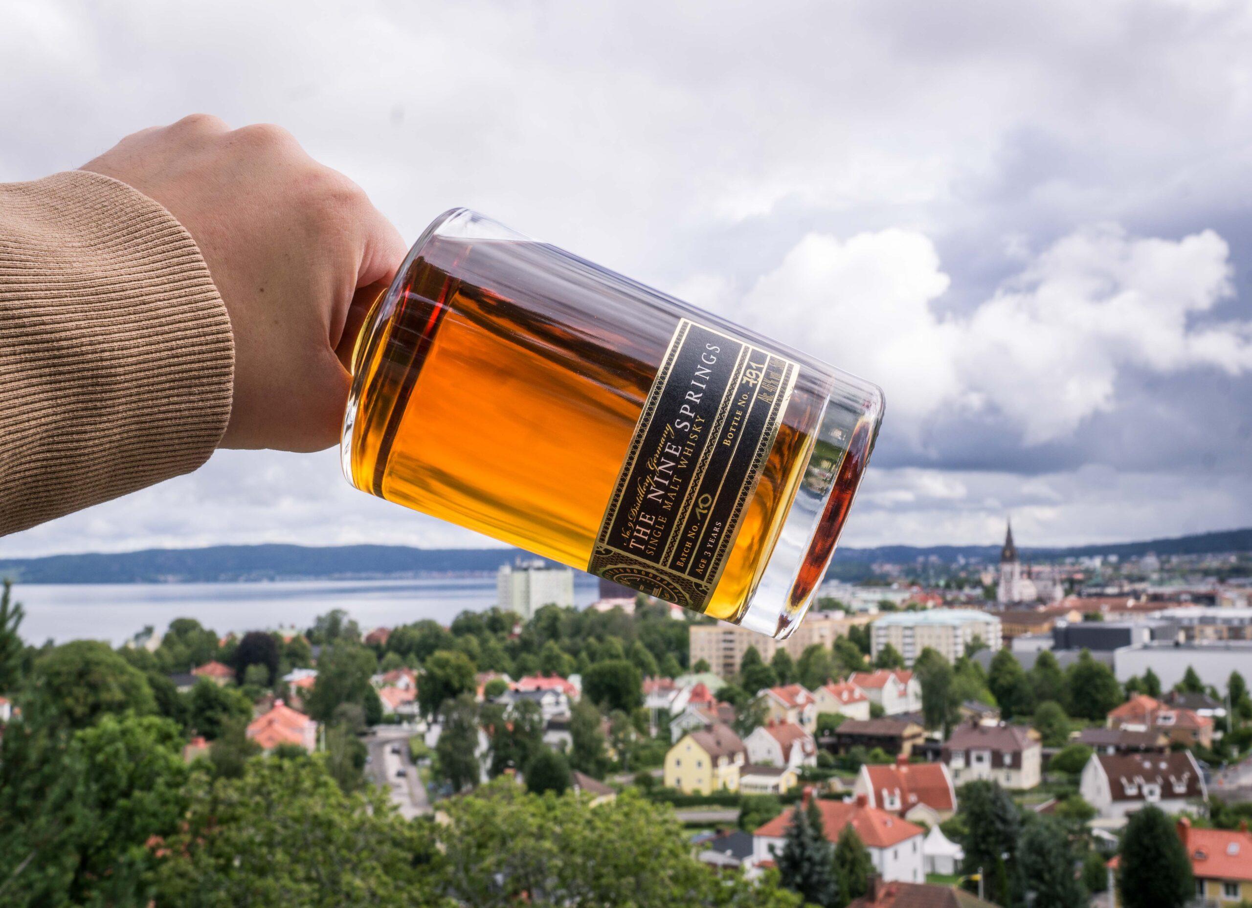 The nine springs single malt whisky